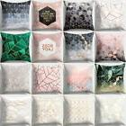 geometric printed polyester throw pillow cases sofa