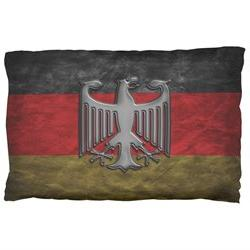 German Flag Eagle Crest Pillow Case Multi Standard One Size