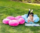 Girls floor pillow bed as reading nook cushion decorative an