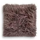"Gray Mongolian Faux Fur Throw Pillow 18""x18"" - Xhilaration&#"