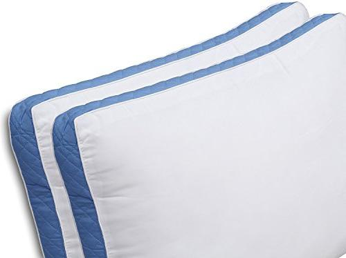 Utopia Pillow 26 of 2 Bed Sleepers Blue