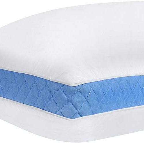Utopia Bedding Gusseted Pillow 18 26 - of Premium Bed Back Sleepers Blue Gusset