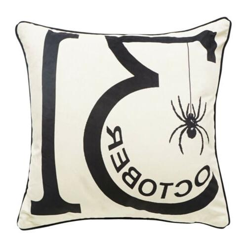 Halloween Pillow Cover Pillowcases Decorative Sofa Cushion