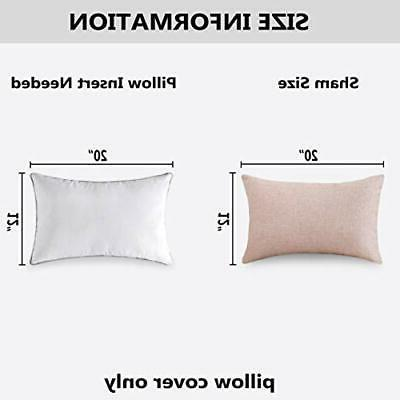 HOME BRILLIANT Rectangle Throw Pillow Cushion Cover