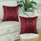 Home Decor 2 pc Throw Pillow Case Cover 18x18 Vintage Floral