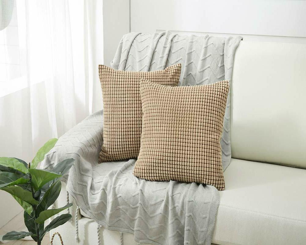 Home Covers Decorative Corduroy 18 ""