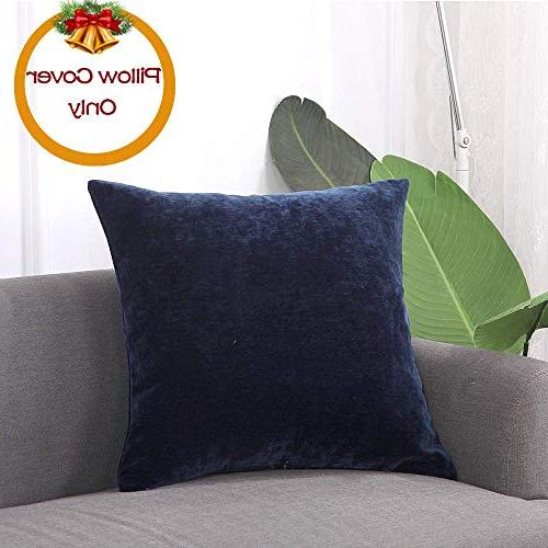 Loom & Decorative Velvet Soft Cover Cushion Cover Case Study with