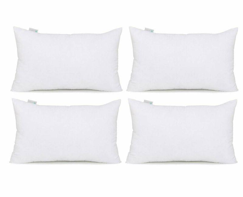 hypoallergenic pillow insert form cushion square 12