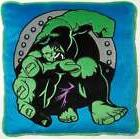 THE INCREDIBLE HULK MARVEL HERO APPLIQUED EMBROIDERED THROW