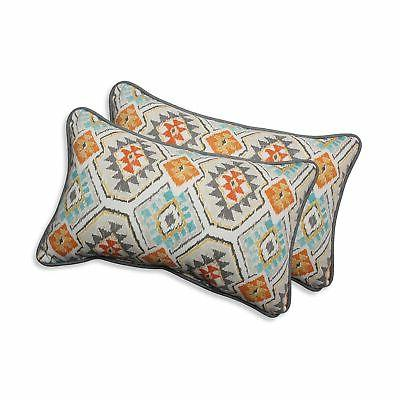 Pillow Perfect Outdoor/ Indoor Eresha Oasis Rectangular Thro