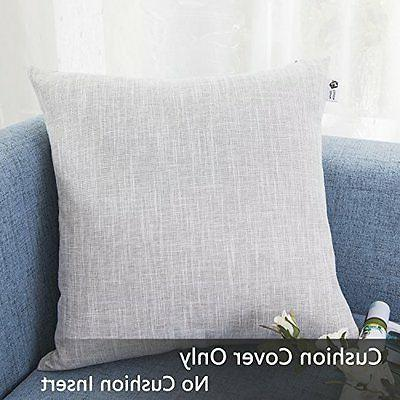 Kevin Textile Covers Decorative Lined Linen Throw Sham