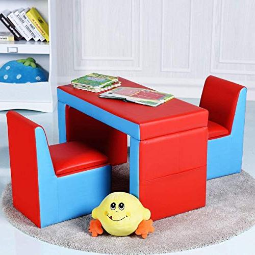Brilliant Costzon Kids Sofa 2 In 1 Multi Functional Kids Table Pdpeps Interior Chair Design Pdpepsorg