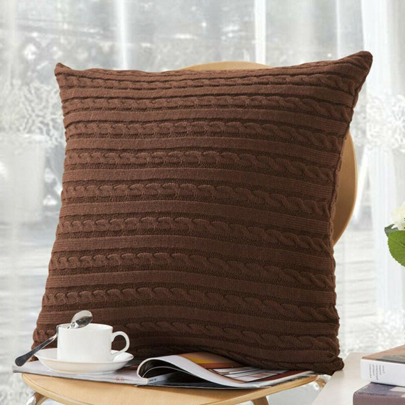 Knitting Fashion Case Sofa Bed Cover Decoration