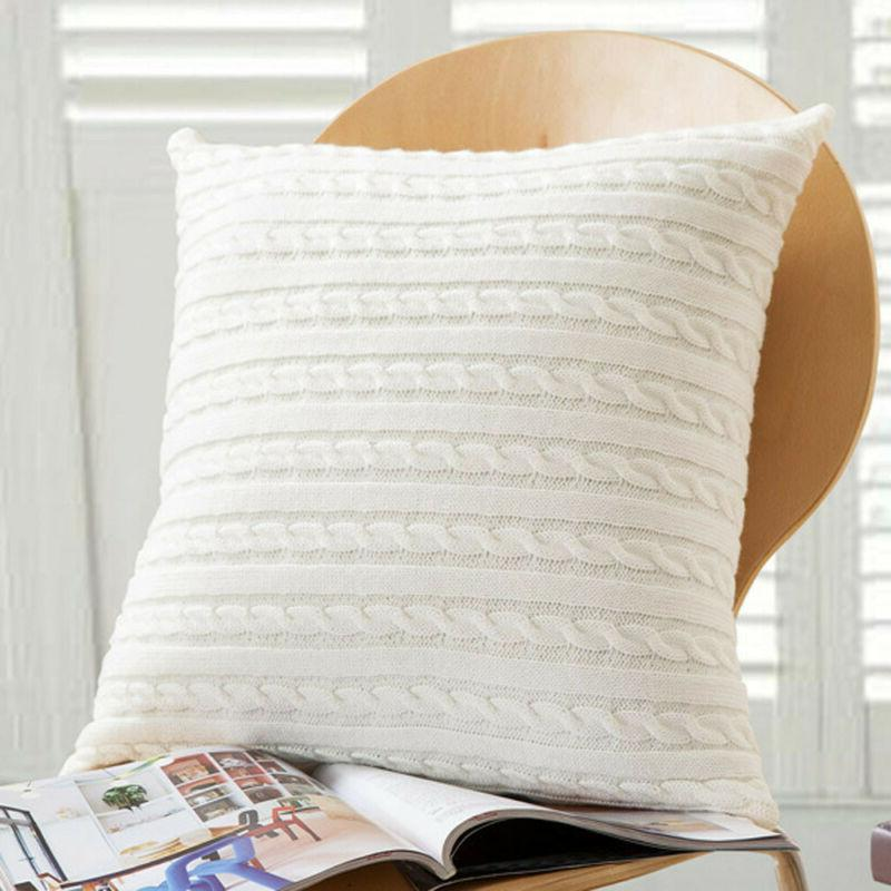 Knitting Fashion Case Bed Cover