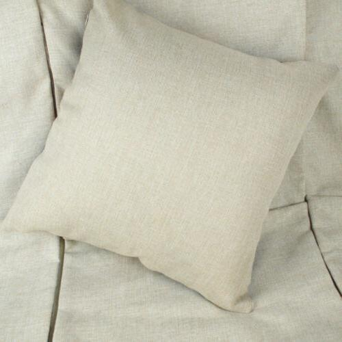 Linen Throw Pillow Decor