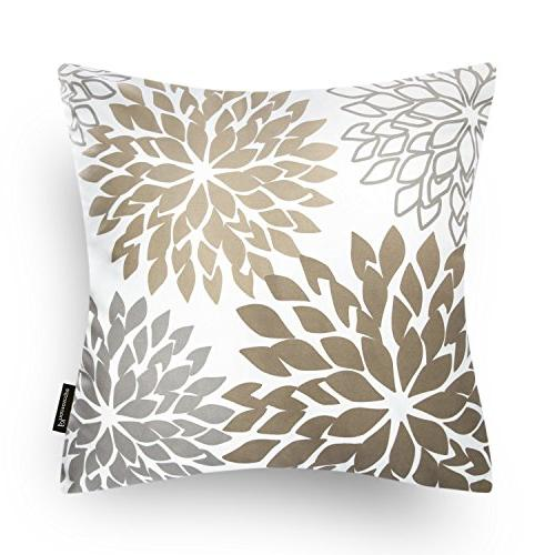 Phantoscope of 4 New Living Series Coffee Color Decorative Case Cushion x 45cm
