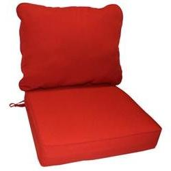 Outdoor Lounge Chair Cushion, Salsa