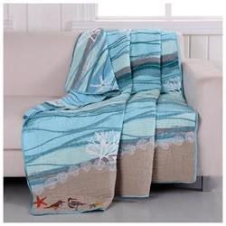 Maui Quilted Embroidery Throw