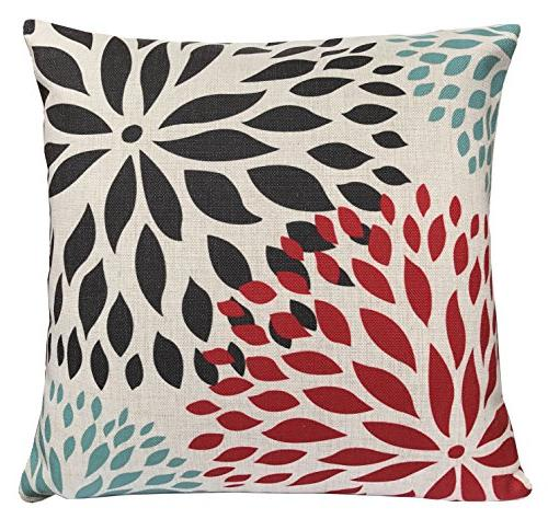 BLUETTEK Modern Geometric Throw Pillow Couch Covers Set of 18 Inches