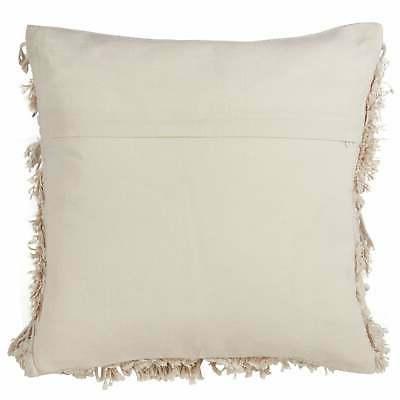 Moroccan Down Filled Cotton Throw Pillow