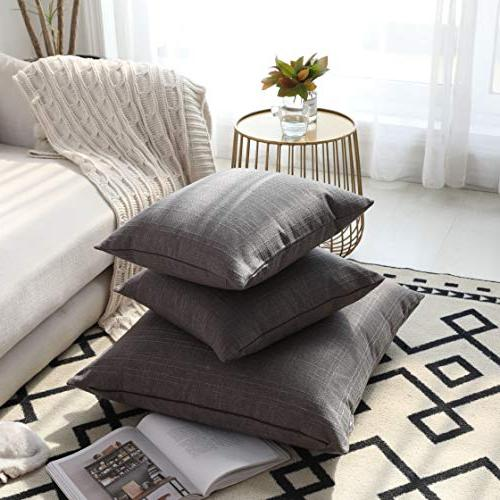 Kevin Throw Pillow Cases Durable Linen for