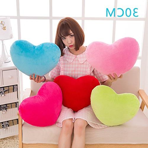 EA-STONE Multi-Colored Shape Decorative PP Cushion Plush Toy Office Gift for Woman