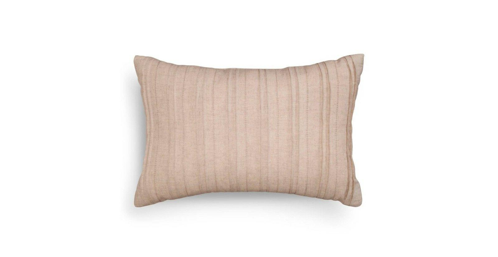 Natural Washed Linen Oblong Throw Pillow  - Threshold