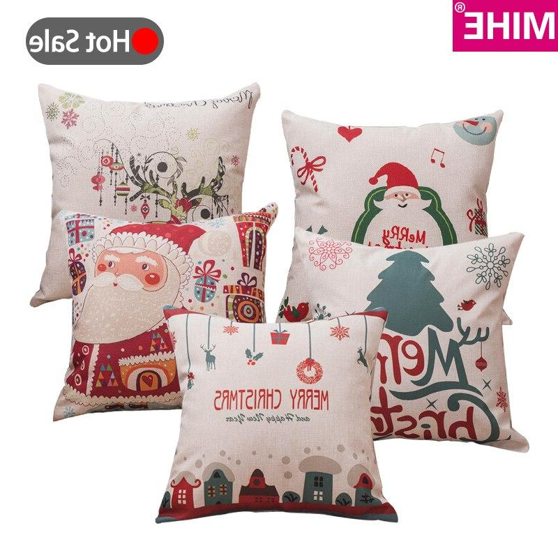 MIHE Soft Bed Covers Pillowcase Christmas Decorations