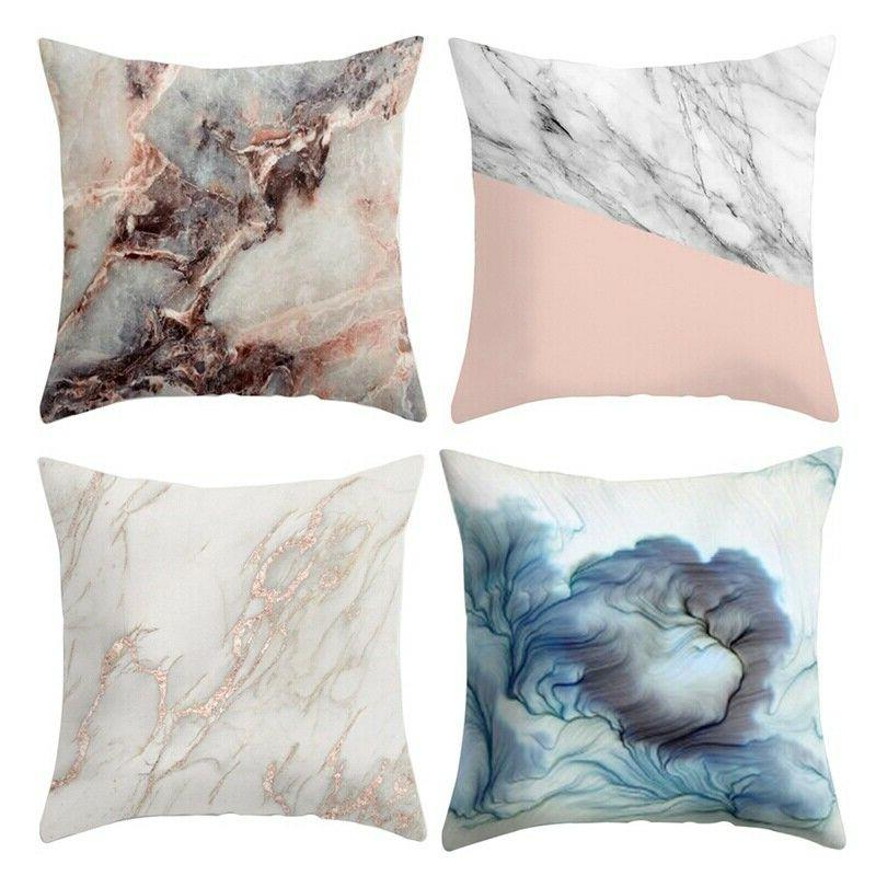 Novelty Marble Throw Pillow Home Cushion
