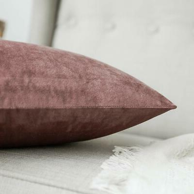 MIULEE Decorative Velvet Soft Covers
