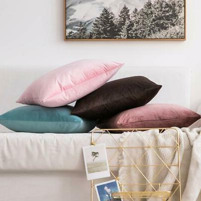 MIULEE Soft Pillow Covers