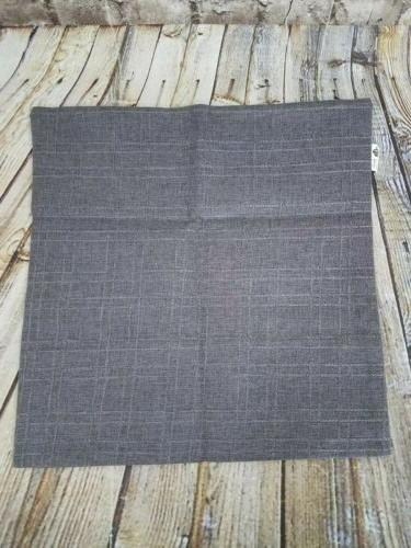 Kevin Pillow Throw of 2 Gray/Brown