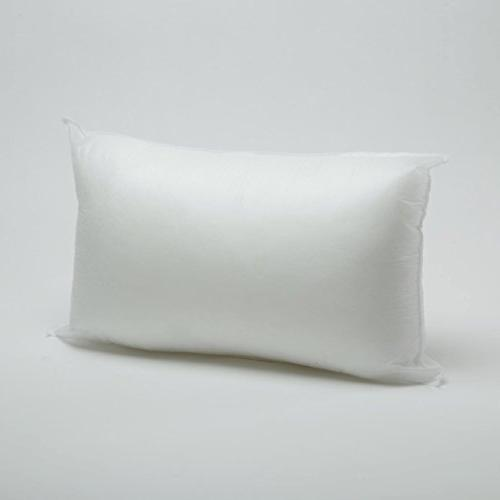 pillow form white polyester