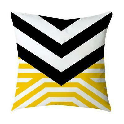Pineapple Leaf Yellow Pillow Case Eco-Friendly