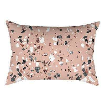 Pink Styles Rectangular Cover Home