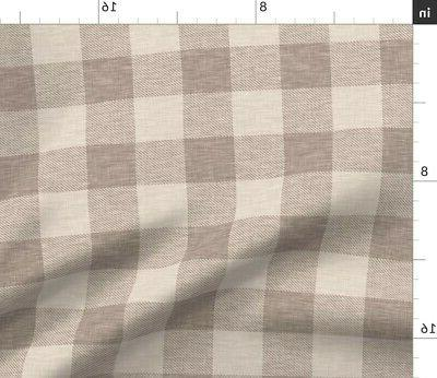 Plaid Throw Pillow Optional Insert by