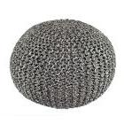 Poufs And Ottomans Seating Chair Knitted Floor Handmade Stit