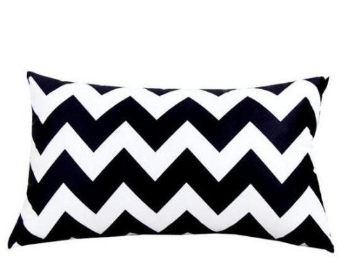 Rectangle Pillows Case Pillow Cushions Cover Decor