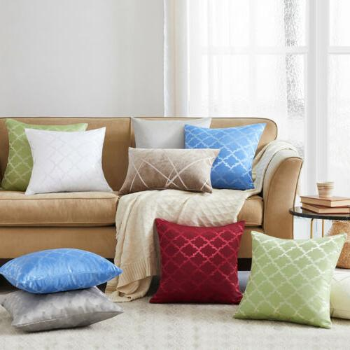 Square Pillow Case Sofa Cushion Cover