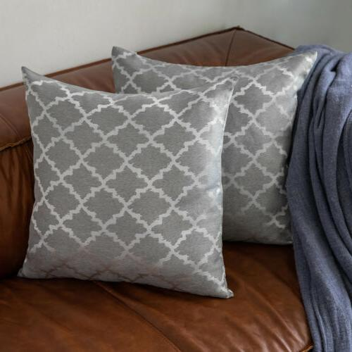 Reversible Pillow Geometric Couch