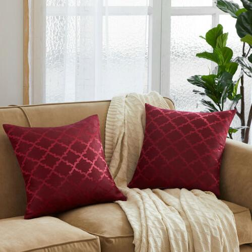Reversible Throw Geometric Sofa Couch Case