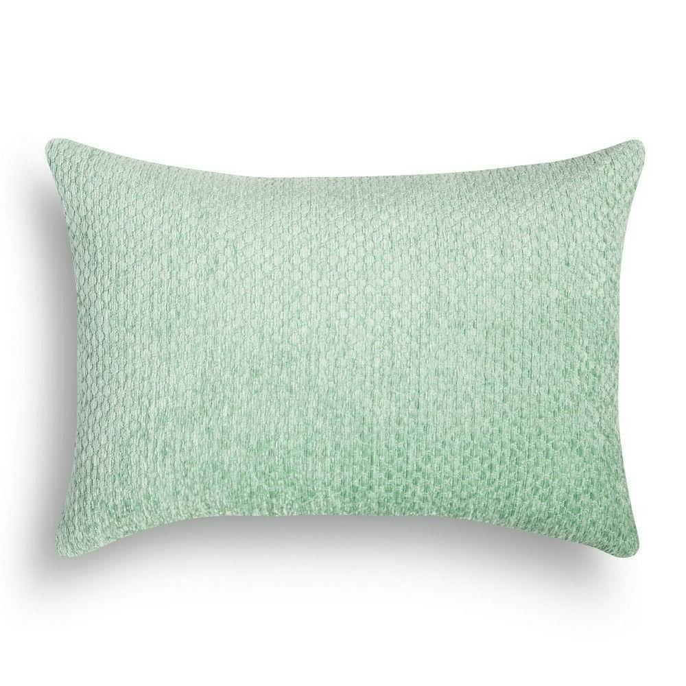 Set of 2! Threshold Rectangle Soft Chenille Throw Pillow - G