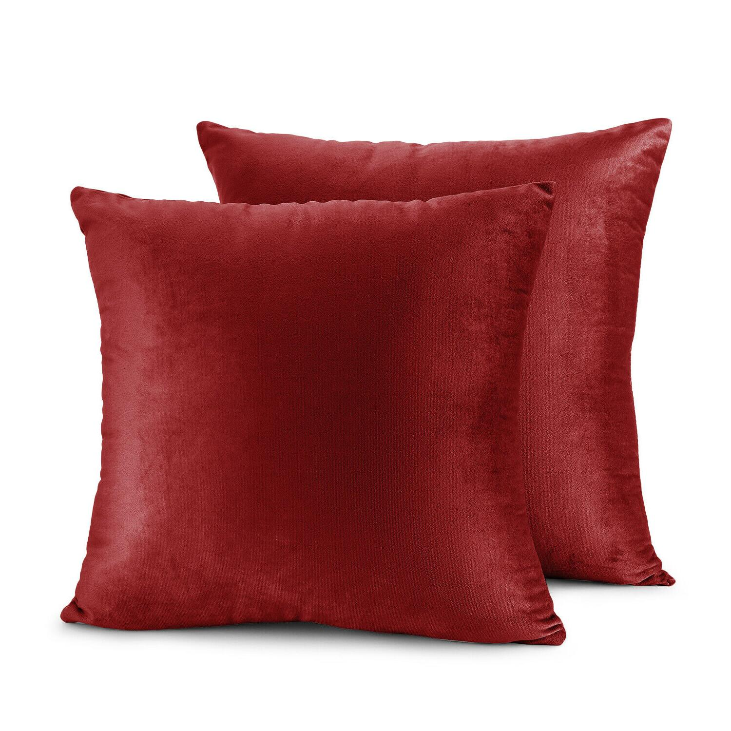 Throw of Sofa Velvet Cushion Cases Sizes