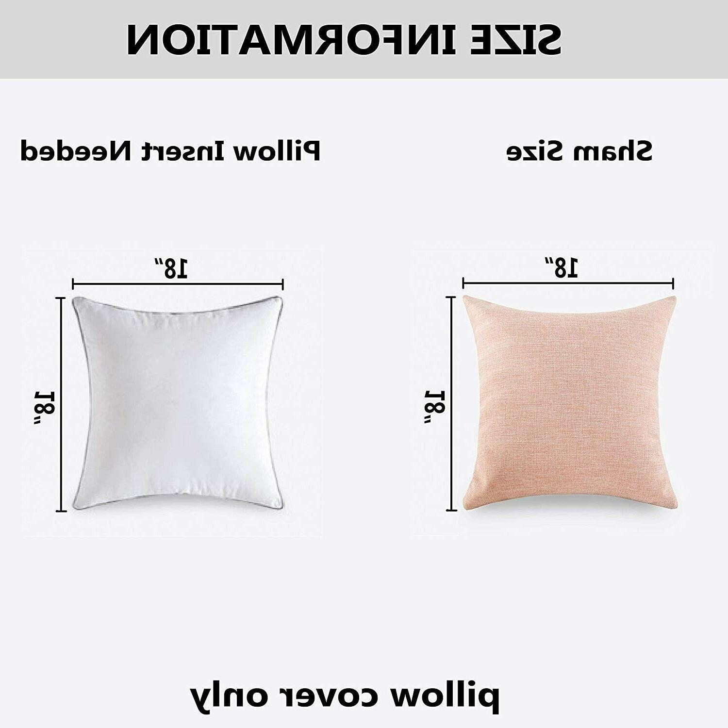 Set of HOME BRILLIANT Square Throw 45x45, Baby