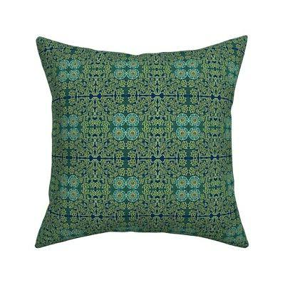 shakespeare arts and crafts throw pillow cover