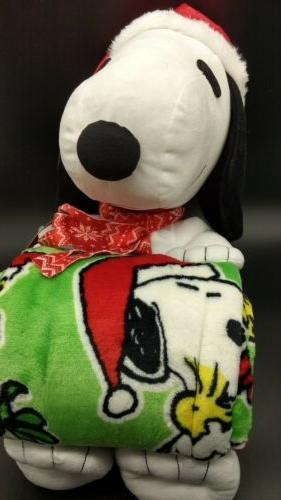 """Peanuts Snoopy Toddler Throw Blanket 50"""" NEW"""