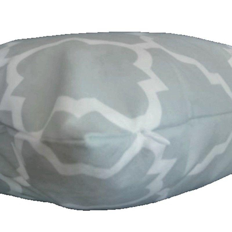 Soft Gray Throw PILLOW Geometry Couch Cushion