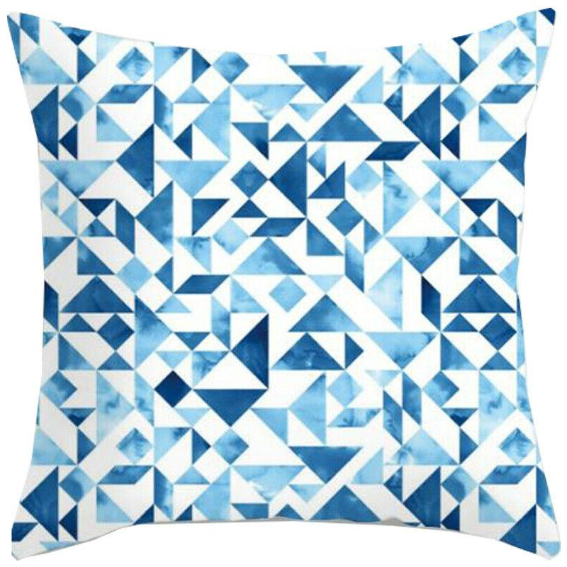 Square Abstract Pillow Cushion Cover Sofa Waist