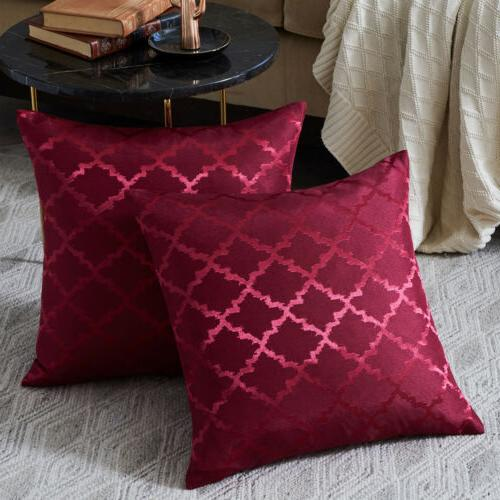 Square Pillow Sofa Car Throw Cushion Cover