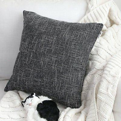 Kevin Textile Lined Linen Soft Cushion